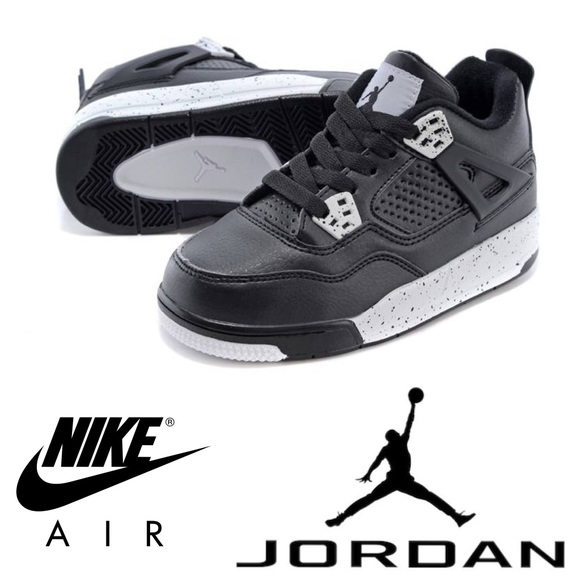 d6fb6820865401 Jordan Other - Nike Air Jordan Retro 4s Oreo Black Gray Baby 4c